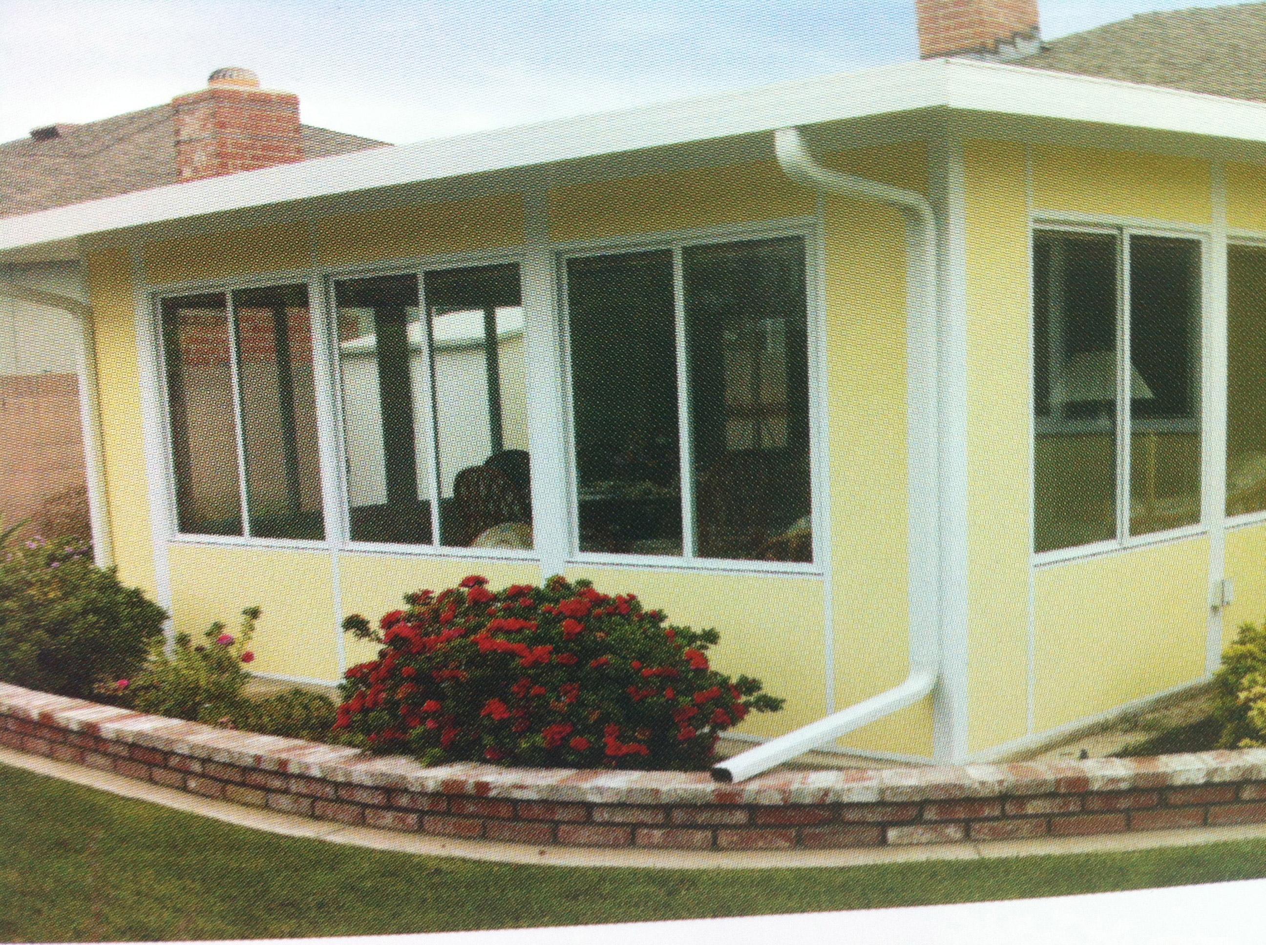 Sun rooms baker aluminium for Florida room addition