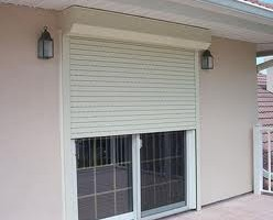 Hurricane Sliding Glass Door Shutter