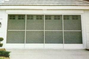 Four Panel Garage Screen.
